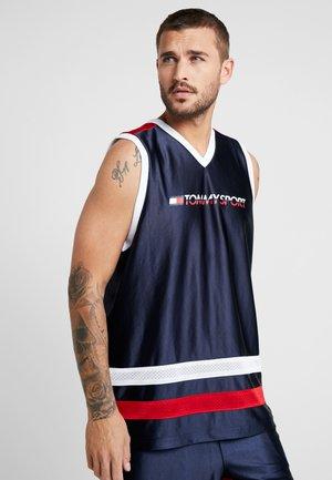 RETRO LOGO - Top - sport navy