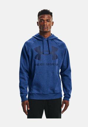 Hoodie - blue melange
