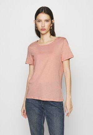 VISUS  - T-shirt basic - misty rose
