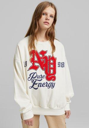 OVERSIZE - Sweatshirt - off-white