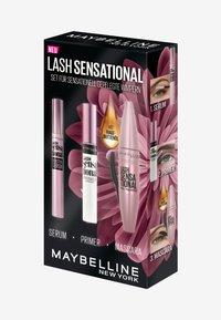 Maybelline New York - LASH SENSATIONAL MAKE-UP SET - Makeup set - very black - 9