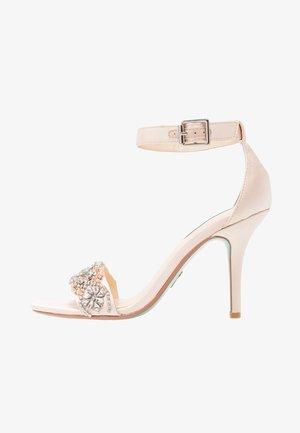 GINA - Sandály na vysokém podpatku - champagne