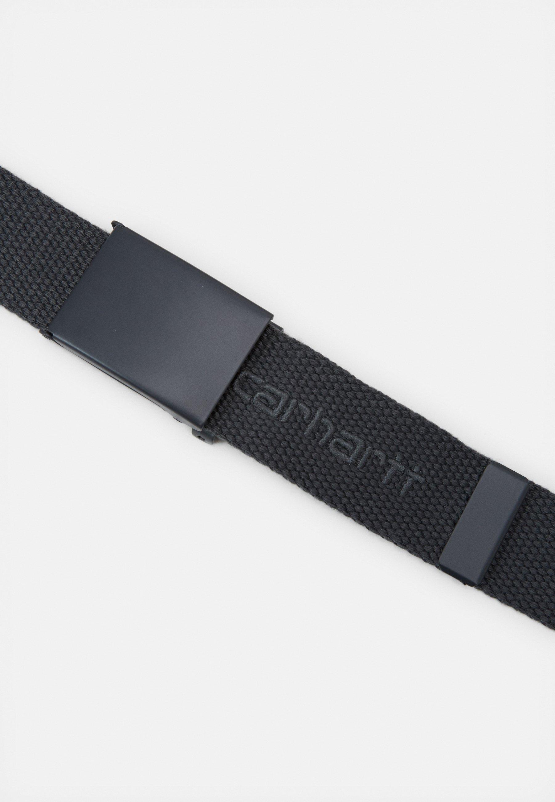Carhartt WIP SCRIPT BELT TONAL - Belte - blacksmith/mørkegrå kNswQj5dXq7LxIb