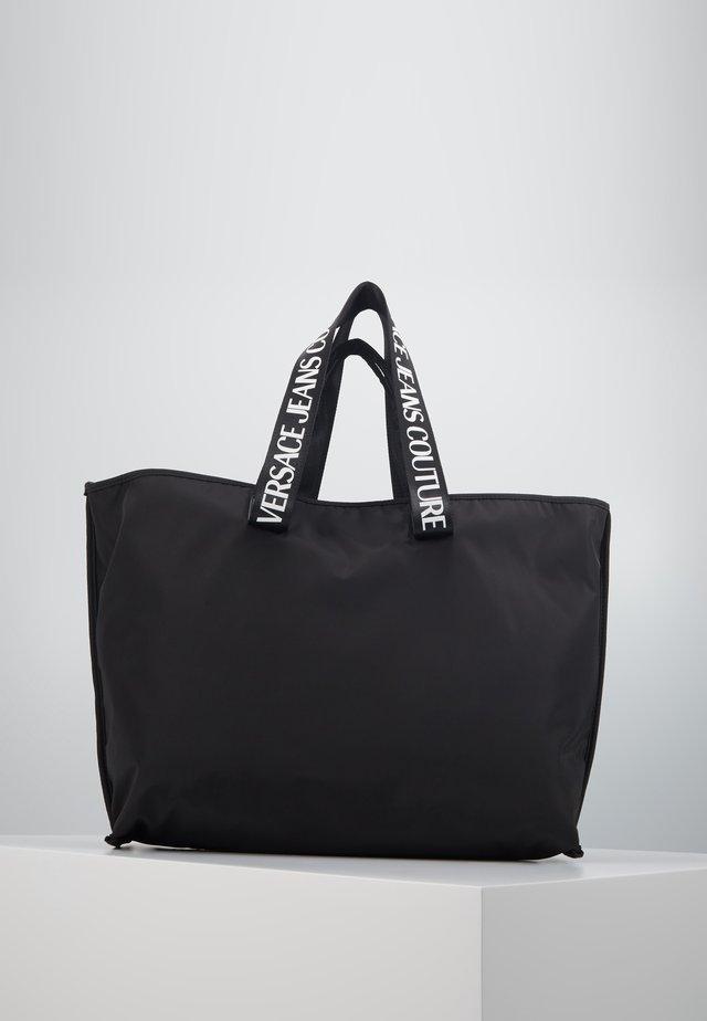 STUDDED SHOPPER - Shopping bag - black