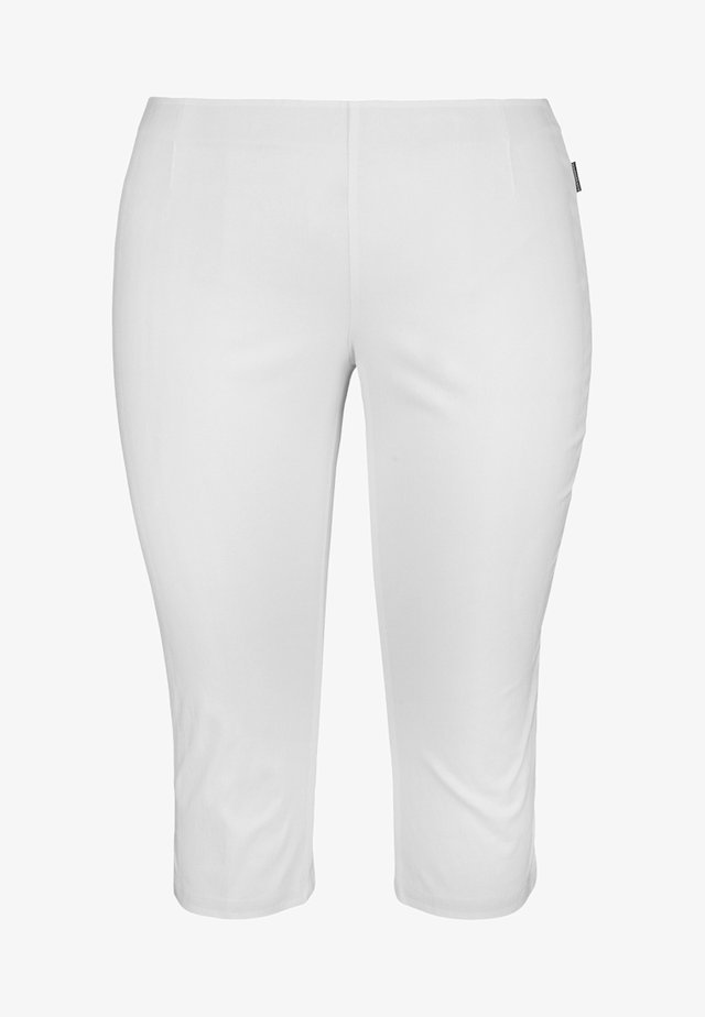Trousers - weiß