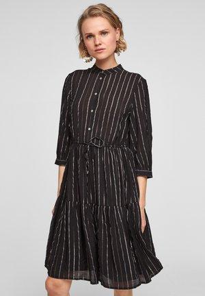 Blousejurk - black stripes