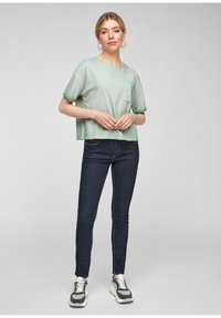 Q/S designed by - Basic T-shirt - mint - 1