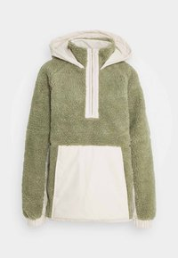 Missguided Tall - OVERSIZED BORG MIX - Winter jacket - sage - 0