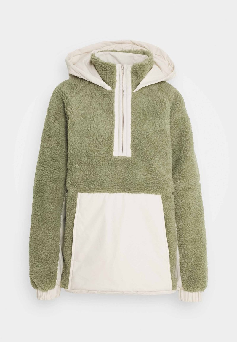 Missguided Tall - OVERSIZED BORG MIX - Winter jacket - sage