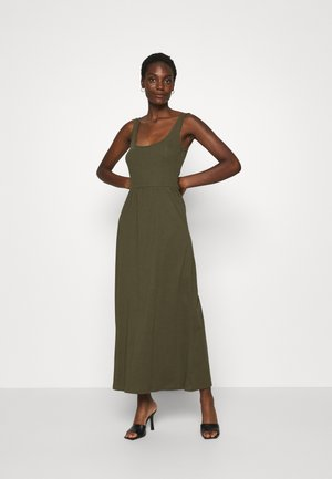 Vestito di maglina - olive night