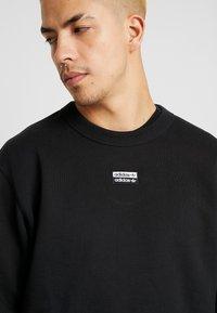 adidas Originals - R.Y.V. CREW LONG SLEEVE PULLOVER - Bluza - black - 3