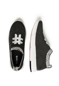 Rens Original - WATERPROOF COFFEE SNEAKERS - Sneakers laag - rebel black - 2