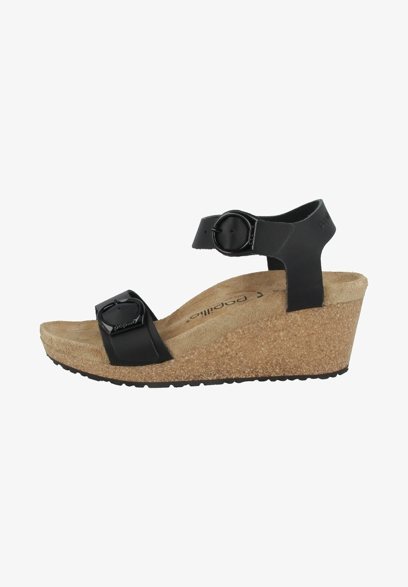 Papillio - Sandalen met sleehak - black