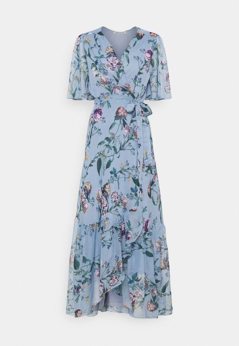 Hope & Ivy Petite - THE MARIANNE - Maxi šaty - blue
