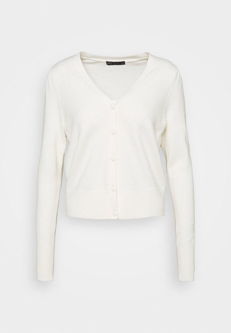 Marks & Spencer London - PLEAT SLEEVE  - Cardigan - beige