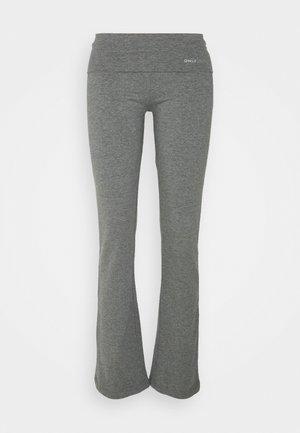 ONPFOLD JAZZ PANTS - Collant - medium grey melange
