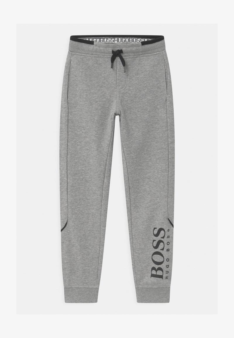 BOSS Kidswear - BOTTOMS - Pantalon de survêtement - mottled grey