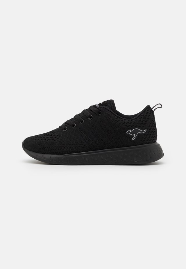 K-ACT QUIET - Sneakers laag - jet black