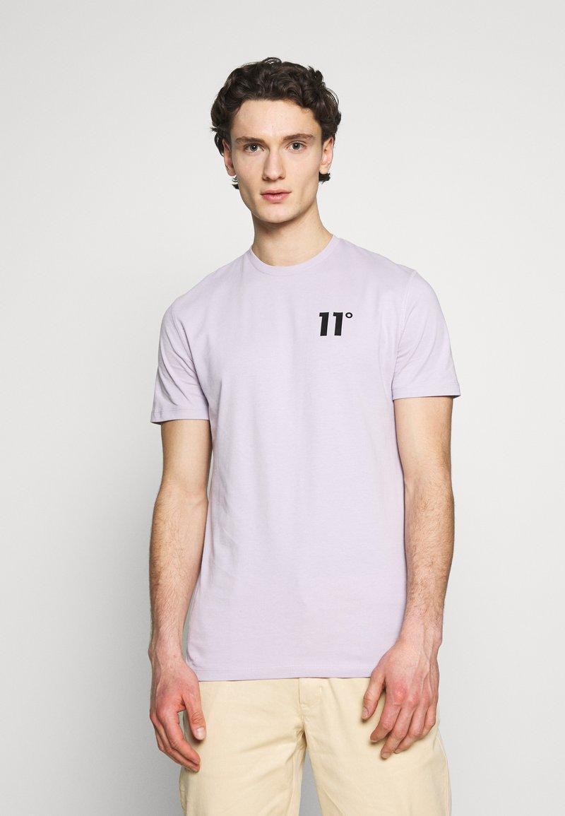 11 DEGREES - CORE  - Camiseta básica - evening haze lilac