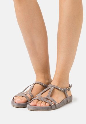 NELLY - Sandals - taupe