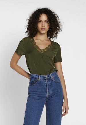Blouse - ivy green