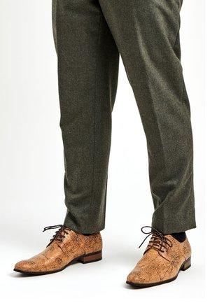 CORKIFY - Smart lace-ups - brown