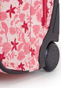 Kipling - School bag - pink leaves - 4
