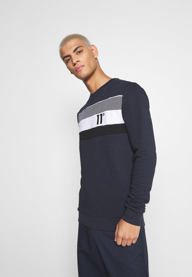 11 DEGREES - MERCURY - Sweatshirt - navy