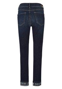 Angels - CICI TAPE' MIT STICKEREI - Slim fit jeans - dunkelblau - 6