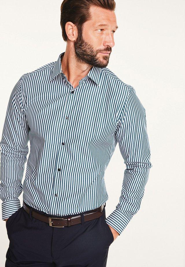 TRIM DETAIL SIGNATURE - Formal shirt - blue