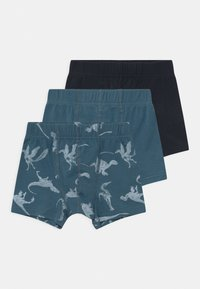 Name it - NMMTIGHTS DINO 3 PACK - Boxerky - real teal - 0