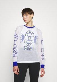 adidas Originals - VARSITY - Camiseta de manga larga - white - 0