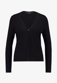 Vero Moda - VMHAPPY BASIC V NECK CARDIGAN - Cardigan - black - 3