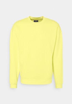 JORBRINK CREW NECK - Felpa - elfin yellow