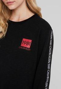 Calvin Klein Underwear - BOLD LOUNGE - Nattøj trøjer - black - 5
