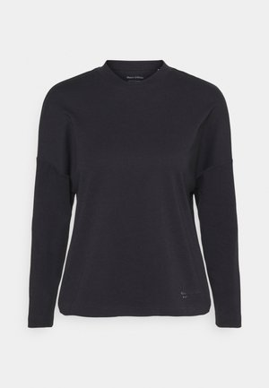 LONG SLEEVE HIGH NECK - Long sleeved top - black