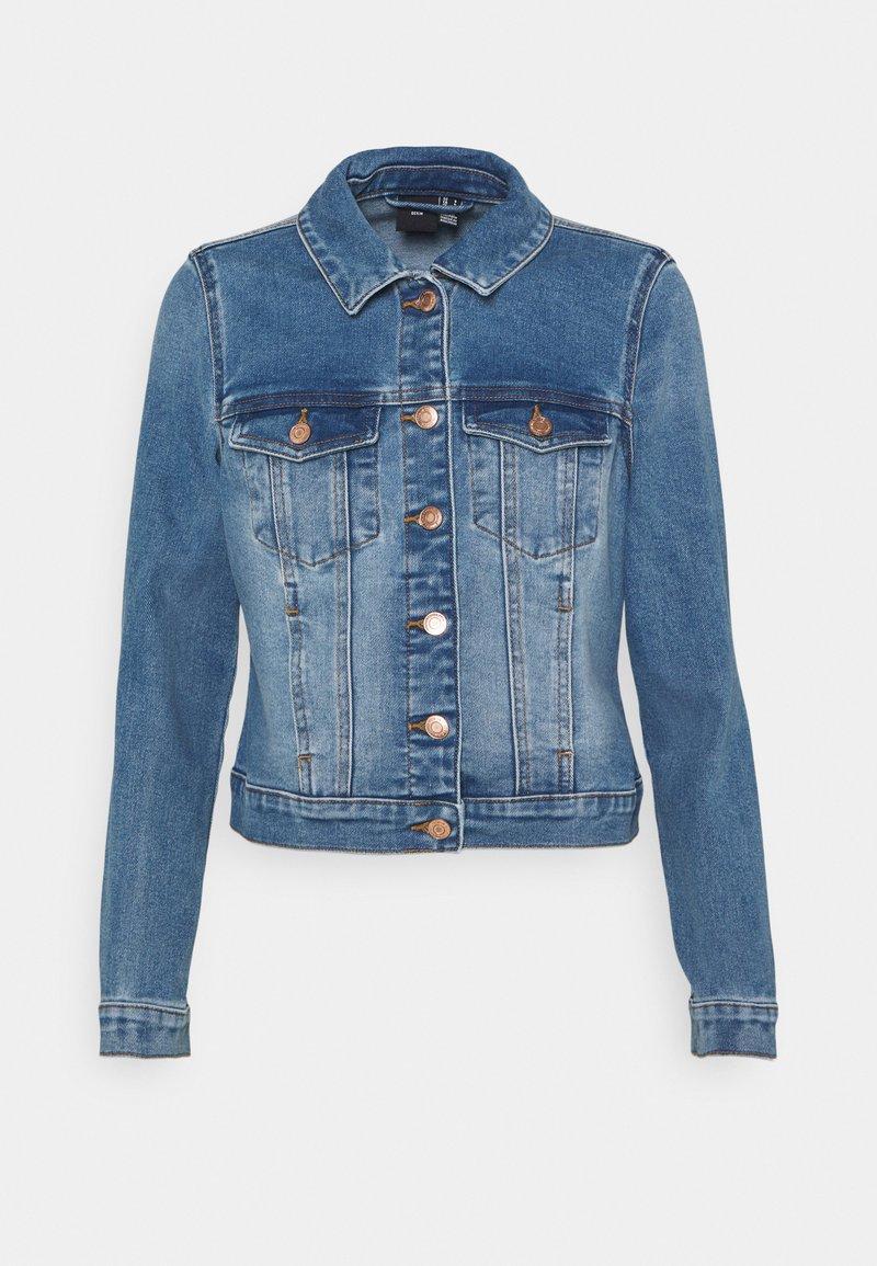 Vero Moda Petite - VMFAITH SLIM JACKET - Jeansjakke - medium blue denim