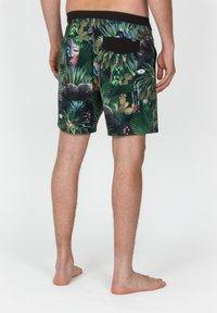 Roark - CHILLER JARDIN OASISS - Swimming shorts - black - 1