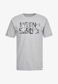 Diamond Supply Co. - DOWNTOWN SIGNATURE - Print T-shirt - heather grey - 3