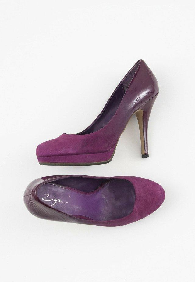 Hoge hakken - purple