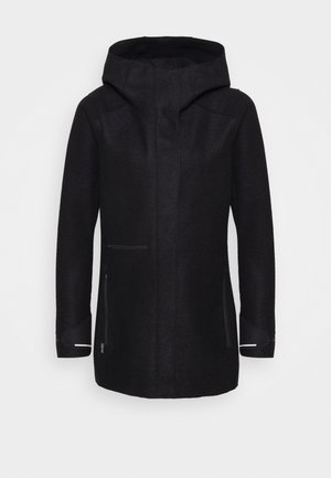 AINSWORTH HOODED JACKET - Outdoorová bunda - black