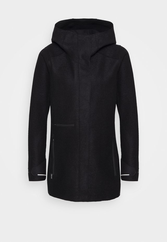 AINSWORTH HOODED JACKET - Outdoorjas - black