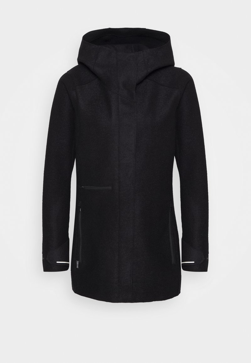 Icebreaker - AINSWORTH HOODED JACKET - Outdoor jacket - black