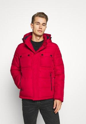 LANGARM - Winter jacket - dark red