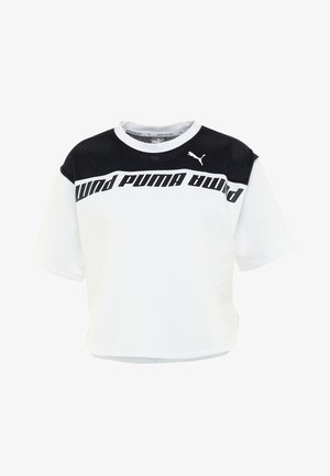 MODERN SPORTS TEE - T-Shirt print - white/black