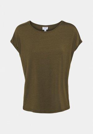 VMAVA PLAIN - Basic T-shirt - dark olive