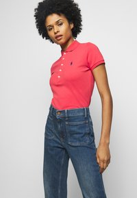 Polo Ralph Lauren - JULIE SHORT SLEEVE - Polo - starboard red - 4