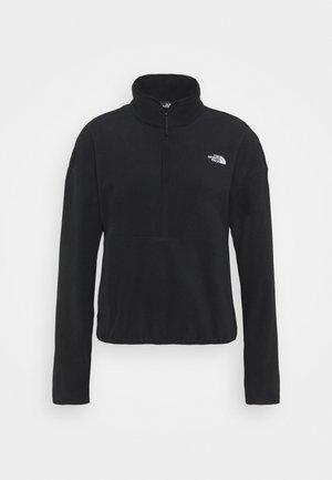 GLACIER CROP - Fleece jumper - black