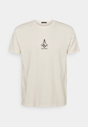 MASON - Print T-shirt - marfil