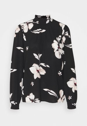 ONLWINNER HIGHNECK - Blouse - black